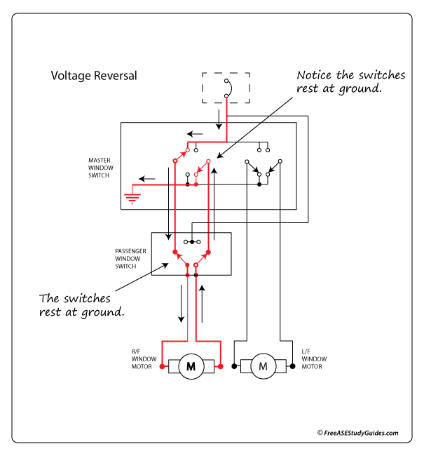 Power Window Circuits
