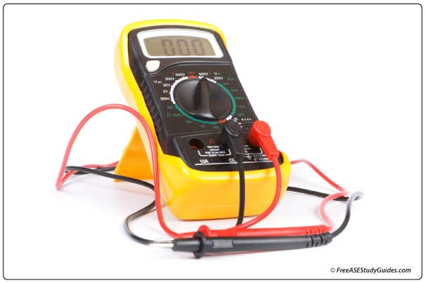 Use a multimeter to test spark plug resistance.