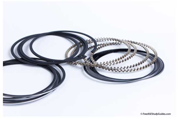 Moly Coated Steel Piston Ring