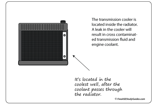 Automatic Transmission Cooler Function Location
